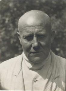 Portrait Carl Lambrecht von 1933